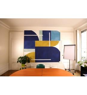 JetTex en décoration murale.