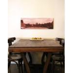 Impression toile canvas panoramique montée sur châssis en bois