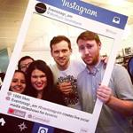 Impression cadre Instagram ou Insta frame 2 formats au choix