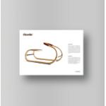Impression de cartel d'exposition format carte de visite rigide